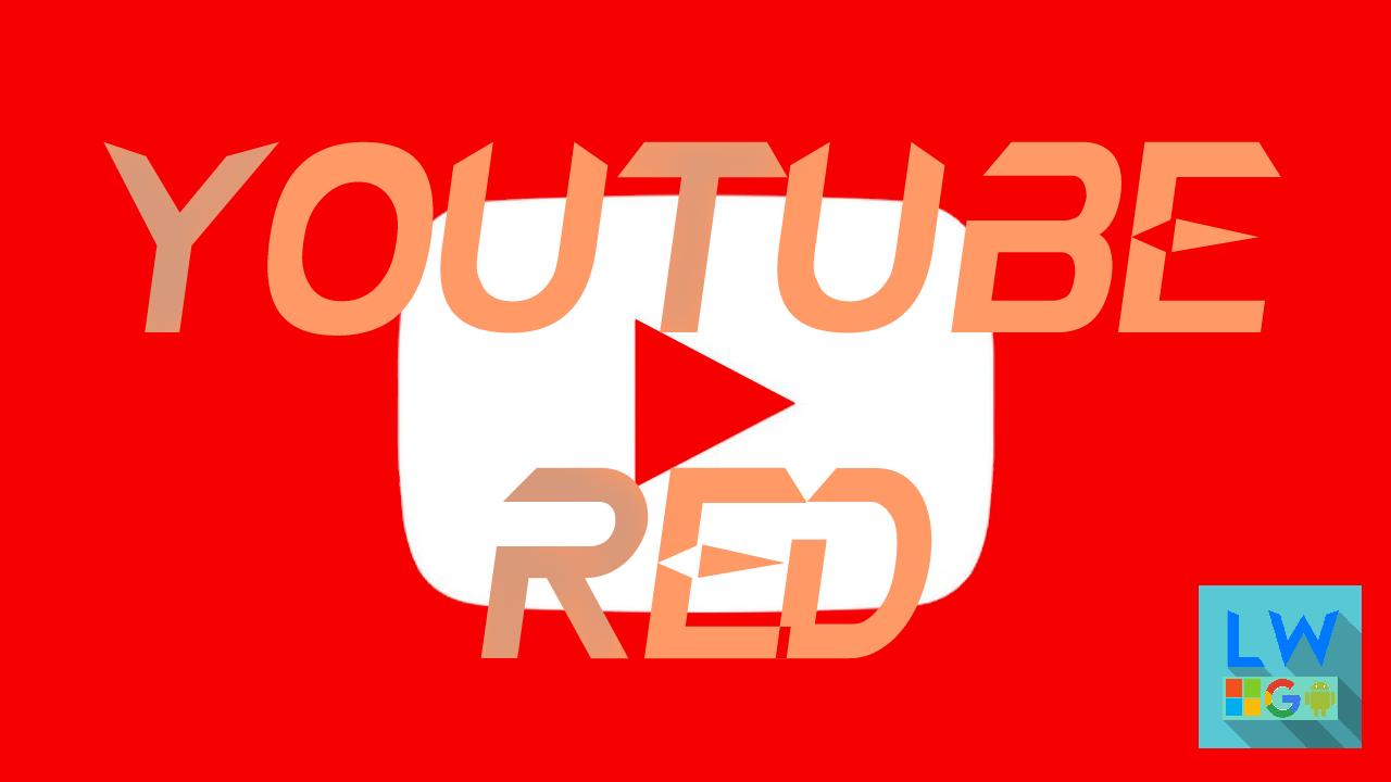 Youtube Red; il tubo si tinge di rosso