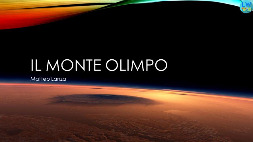 Il monte Olimpo di Marte (PowerPoint)